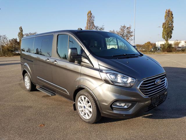 Lagerfahrzeug Ford Tourneo Custom - L2 185 Automatikgetr. Titanium 9 Sitz. NAVI Klima Temp SHZ LMF AHK