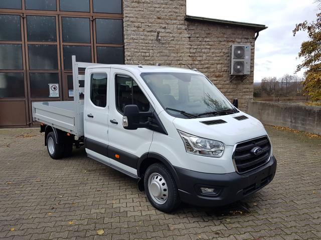 Lagerfahrzeug Ford Transit - 350 L3 Doppelkabine Trend DOKA Pritsche RWD Klima AHK 5JG