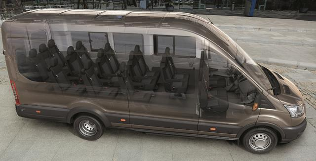 Bestellfahrzeug, konfigurierbar Ford Transit - Trend BUS M2 18Sitzer 170PS 460 L4H3 Adapttemp Klima DAB Spur PDC NSW