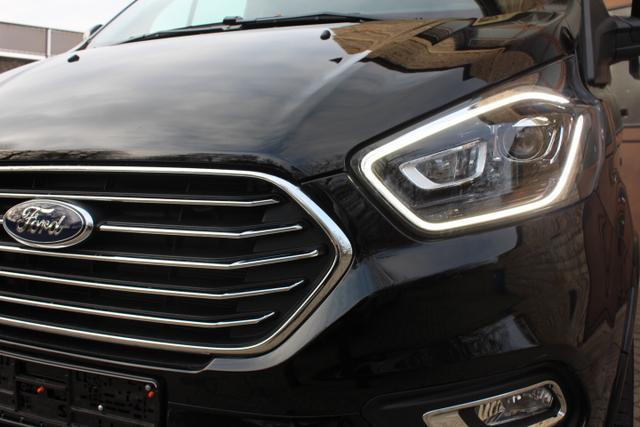 Ford Tourneo Custom - L1 Titanium X 185 8 Sit. Klima Vor+Hint PDC Temp SHZ LMF Kamera NAVI Xenon Leder AHK 230V