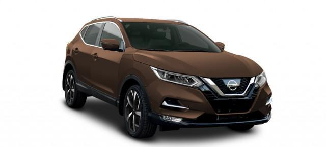 Nissan Qashqai - 1.3 DIG-T 103kW Tekna - Chestnut Bronze 1-3Wo.