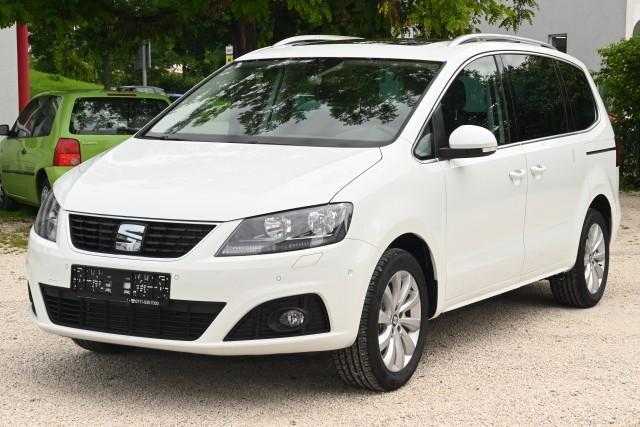 Vorlauffahrzeug Seat Alhambra - 2.0 TDI SCR 110kW Style Siete - Weiß in 1-3 Wochen