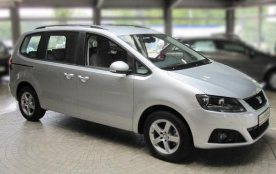 Vorlauffahrzeug Seat Alhambra - 2.0 TDI SCR 110kW Style Siete - Whitesilver