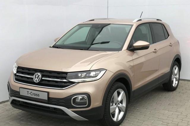 Volkswagen T-Cross - 1.0 TSI 85kW Style - Pale Copper, 6Tkm, OKT 2020