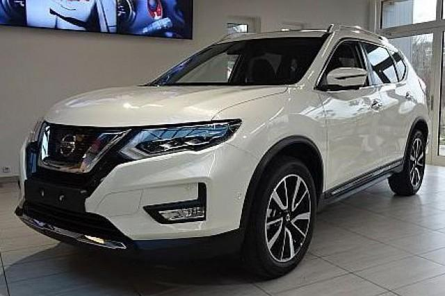 Nissan X-Trail - 1.3 DIG-T DCT 117kW Tekna - Pearl White + TAN-Leder