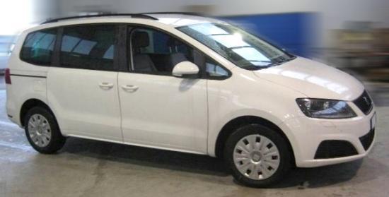 Seat Alhambra - 2.0 TDI SCR 110kW Xcellence Siete - Weiß