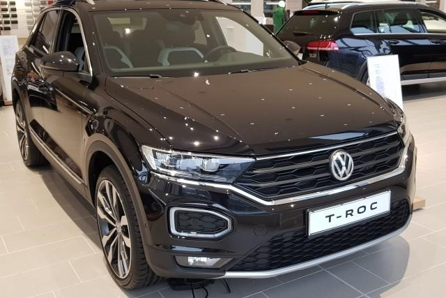 Volkswagen T-Roc - 1.5 TSI 110kW 7DSG Sport TEAM - Deep Black AKTION