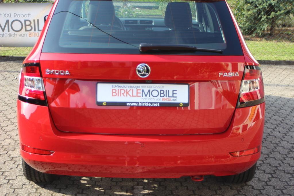 Skoda Fabia Combi Facelift corrida rot