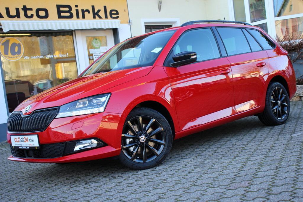 Skoda Fabia Combi Ambition Style Plus 2020 mit XXL Rabatt bei Birkle Mobile in Reute bei Freiburg EU-Neuwagen zum besten Preis unter www.autlet24.de