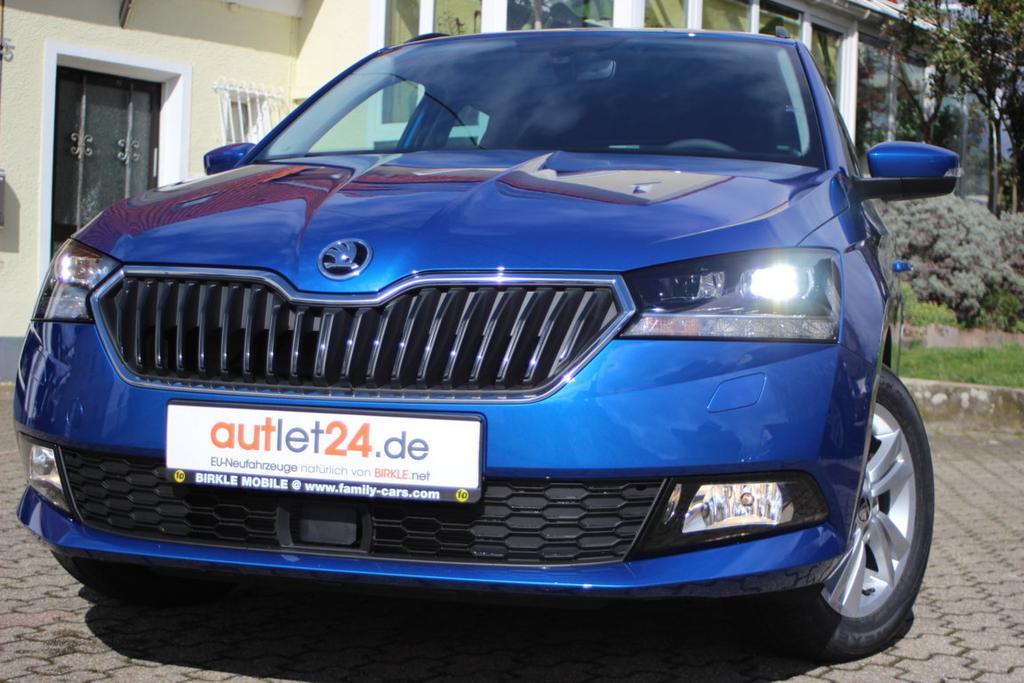 Skoda Fabia Combi Ambition Style Plus 2019 2020 mit XXL Rabatt bei Birkle Mobile in Reute bei Freiburg EU-Neuwagen zum besten Preis unter www.autlet24.de