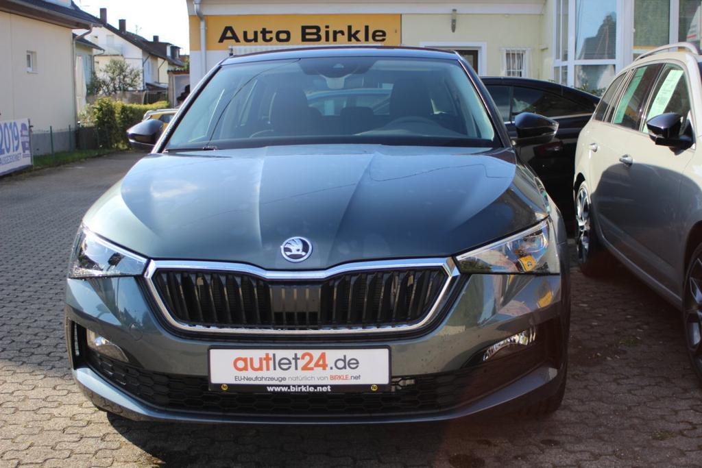 Skoda Scala Ambition Style Plus 2021 mit XXL Rabatt bei Birkle Mobile in Reute bei Freiburg EU-Neuwagen zum besten Preis unter www.autlet24.de