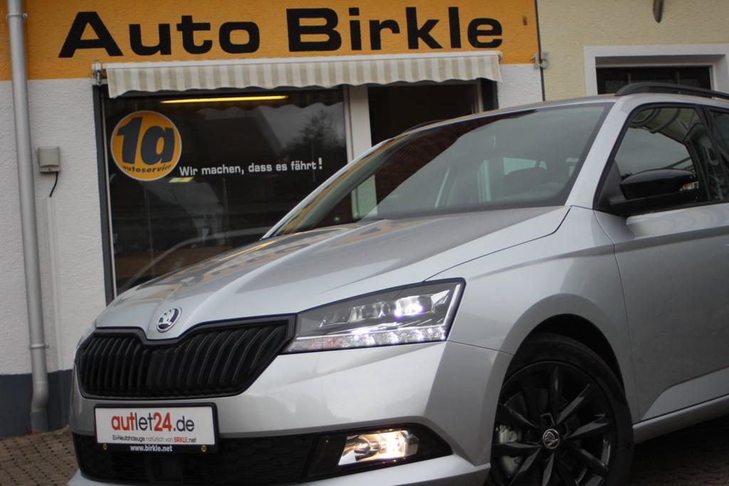 Skoda Fabia Combi Ambition Style Plus 2021 mit XXL Rabatt bei Birkle Mobile in Reute bei Freiburg EU-Neuwagen zum besten Preis unter www.autlet24.de