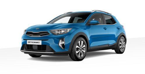 Kia Stonic Top Automatik Sporty Blau metallic MY22 Navi Einparkhilfe Sitzheizung Notbremssystem Spurhaltesystem