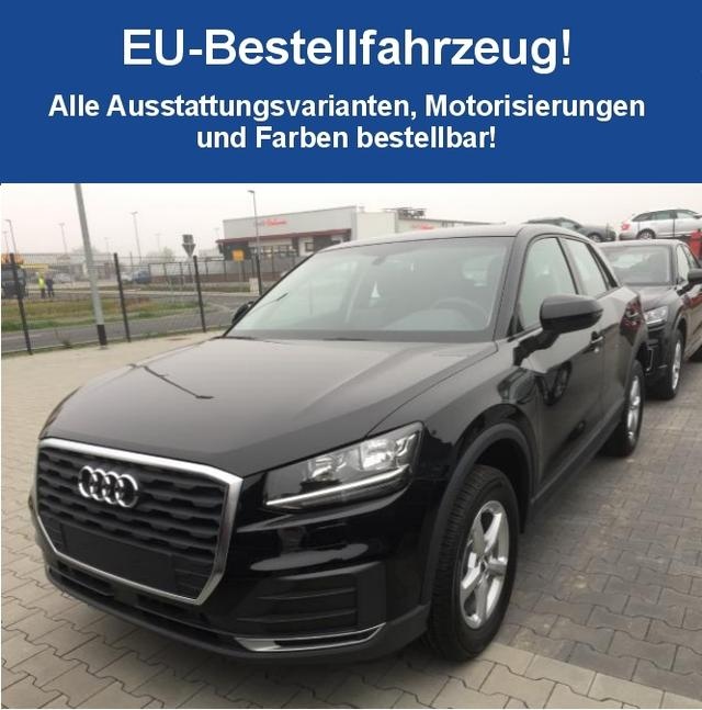 "Bestellfahrzeug, konfigurierbar Audi Q2 - ""Basis"" (2) 35 TFSI 7-Gang-Automatikgetriebe , KLIMA MMI RADIO MIT BLUETOOTH MITTELARMLEHNE LICHT-/REGENSENSOR"