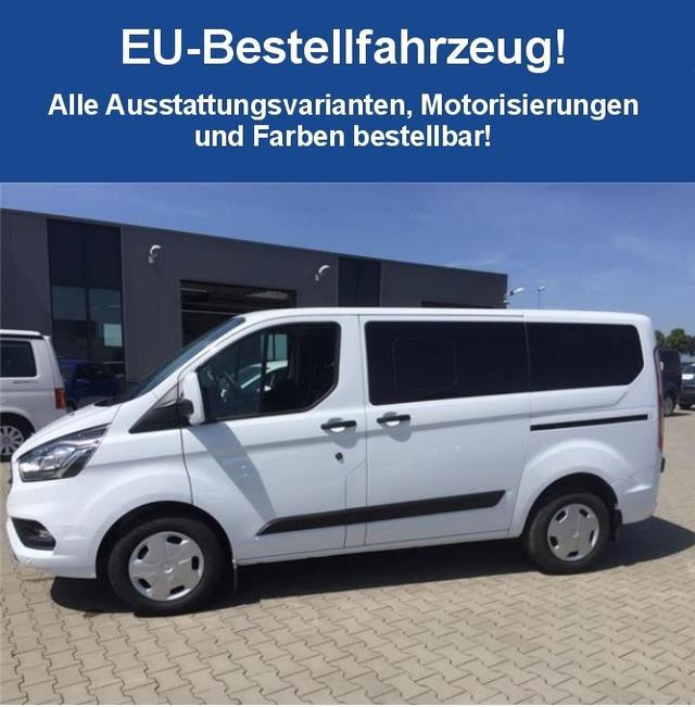 """Bestellfahrzeug, konfigurierbar Ford Transit Custom - """"Ambiente"""" (7) 9 Sitzplätze, Schiebetür rechts, Reserverad, Fahrer- und Beifahrerairbag, Zentralverriegelung mit Fernbedienung"""