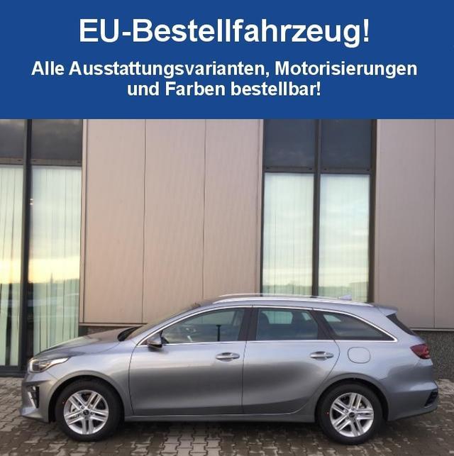 "Bestellfahrzeug, konfigurierbar Kia Ceed Sportswagon - ""Attract"" (2-X) NEUES MODELL, Dachreling, Tempomat, Radio/Bluetooth, Alarmanlage, Lichtsensor, Reserverad"