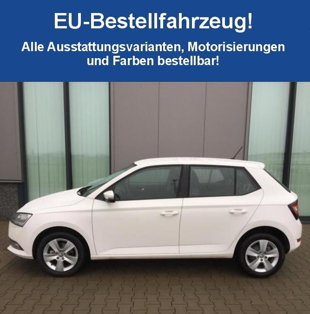 "Skoda Fabia ""Style"" (2) 1.0 TSI 70KW/95PS, 5 Jahre Garantie, 16"" Alufelgen, Climatronic, Winterpaket, Parksensoren, Tempomat, Mittelarmlehne, Front Assist, Multifunktions-Lederlenkrad, Radio SWING PLUS, SmartLink, Easy Start, Nebelscheinwerfer, Maxi-DOT, Licht-/Regensensor"