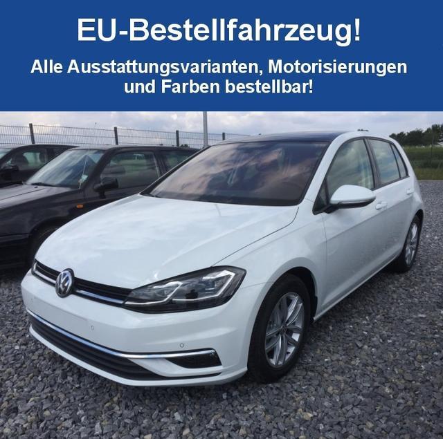 "Volkswagen Golf ""Edition Comfortline"" (2) VII SONDERMODELL 1.6 TDI 85KW INKL. RADIO COMPOSITION MEDIA/CD/SD/USB/BLUETOOTH/TOUCH , 2-ZONEN-CLIMATRONIC ACC PARKSENSOREN VO + HI LICHT-/SICHTPAKET MULTIFUNKTIONS-LEDERLENKRAD 15"" ALUFELGEN"