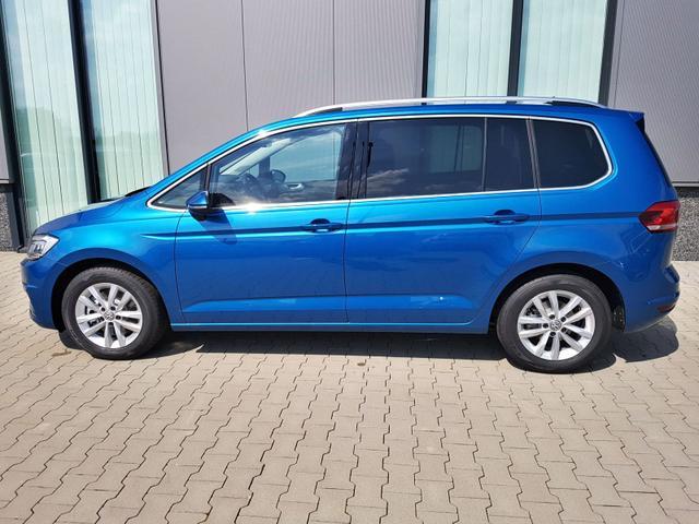 """Volkswagen Touran mit Kurzzeitzulassung (ohne Nutzung!) """"Marathon Edition"""" (1) 1.5 TSI EVO 150PS inkl. 4 J. GARANTIE/80.000 KM LED-SCHEINW. 3-ZONEN-KLIMA INFOTAINMENT READY2DISCOVER/USB/DAB/BT NOTRUF ERGO-ACTIVE-FAHRERSITZ SITZHEIZUNG PS VO+HI SUNSET ACC SICHTPAKET PRECRASH DACHRELING 16"""" ALU"""