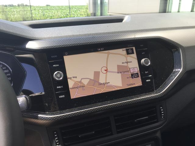 "Volkswagen T-Cross ""Style"" (2) 1.0 TSI 85KW DSG inkl. KLIMA RADIO COMPOSITION MEDIA/CD/SD/USB/BT/VW CONNECT SPORTSITZE DACHRELING LED-SCHEINW. ACC AMBIENTEBEL. SPURHALTEASSISTENT TOTWINKELSENSOR AUSPARKASSISTENT MITTELARMLEHNE 17"" ALU"