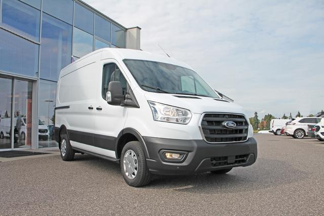 """Ford Transit - """"Trend"""" (3) 2.0 TDCi 130PS 290 L2H2, KLIMA, Parksensoren vo/hi, Lederlenkrad, Tempomat, Nebelscheinwerfer, Easy Clean Boden, Seitenwandverkleidung bis Dachkante, Fahrerairbag, ZV mit Fernbedienung, Radio-USB, Schiebetür, Hecktüren Bestellfahrzeug, konfigurierbar"""