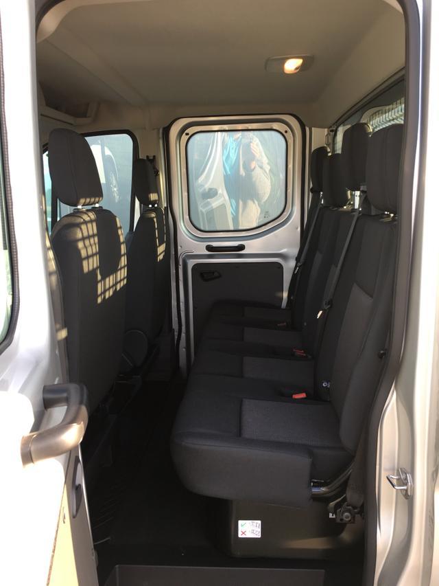 """Ford Transit """"Trend"""" (3) 2.0 TDCi 170PS 350 L2H1 inkl. ALU-PRITSCHE KLIMA RADIO/USB LEDERLENKRAD TEMPOMAT NEBELSCHEINWERFER FAHRERAIRBAG ELEKTRISCHE FENSTERHEBER VORNE ZENTRALVERRIEGELUNG/FERNBEDIENUNG FAHRERSITZ MIT LENDENWIRBELSTÜTZE"""