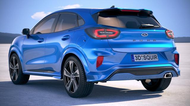 """Ford Puma """"Titanium"""" (5) 1.0 mHEV (MILD-HYBRID) 155PS, 5 Jahre Garantie, 17"""" Alufelgen, LED-Scheinwerfer (Abblendlicht), Navigation, Parksensoren hinten, Klima, Tempomat, Nebelscheinwerfer, Lederlenkrad, Fahrer-/Beifahrersitz mit Massagefunktion"""