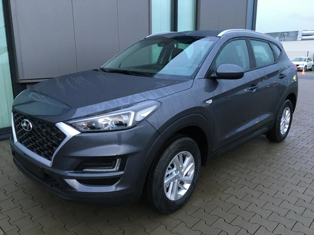 "Hyundai Tucson ""Inspire"" (9) 1.6 GDI 132PS, Pepper-Grey Metallic, Navigation, Rückfahrkamera, Parksensoren hi, Winter-Paket, Klimaautomatik, 16-Leichtmetallräder, Tempomat, Lederlenkrad, Spurhalteassistent"