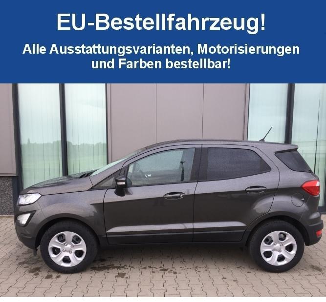 "Ford Ecosport St: Ford EcoSport ""ST-Line Schwarz"" (3) 1.5 EcoBlue 74KW Inkl"