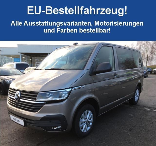 """Volkswagen Multivan T6.1 (NEUES MODELL) """"Trendline"""" (12) 2.0 TDI 150PS 4MOTION (ALLRAD), App-Connect, Multifunktions-Lederlenkrad, Klimaanlage, Radio Compositon Colour, Mobiltelefon-Schnittstelle, Müdigkeitserkennung, Klapptisch, Schiebetüre rechts, Heckklappe"""