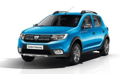 """Bestellfahrzeug, konfigurierbar Dacia Sandero - """"Stepway"""" (5) STEPWAY Blue dCi 95, Klimaanlage, Dachreling, Lederlenkrad, Tempomat, Radio/Bluetooth/USB, Nebelscheinwerfer, Zentralverriegelung mit Fernbedienung, Elektrische Fensterheber vorne, Außenspiegel elektrisch einstell-/beheizbar"""