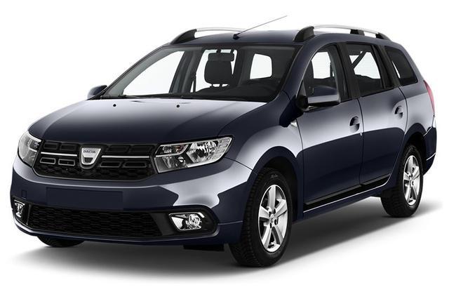 """Bestellfahrzeug, konfigurierbar Dacia Logan MCV - """"Arctic"""" (5) SCe 75, Klimaanlage, Außenspiegel elektrisch einstell-/beheizbar, Nebelscheinwerfer, Radio/MP3/USB/Bluetooth, Dachreling, Zentralverriegelung mit Fernbedienung, Elektrische Fensterheber vorne, ABS ESP, Rücksitzlehne geteilt umklappbar"""