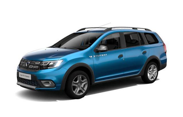 """Bestellfahrzeug, konfigurierbar Dacia Logan MCV - """"Stepway"""" (5) Blue dCi 95, Klimaanlage, Lederlenkrad, Tempomat, Parksensoren hinten, Außenspiegel elektrisch einstell-/beheizbar, Nebelscheinwerfer, Radio/MP3/USB/Bluetooth, Dachreling, Zentralverriegelung mit Fernbedienung, Elektrische Fensterheber vorne"""
