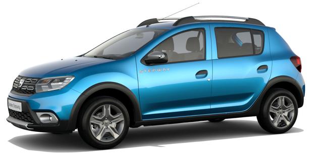 Dacia Sandero STEPWAY Ambiance 1.0 TCe LPG-GASANLAGE, Adria-Blau Metallic, Klimaanlage, MEDIA NAV Navigationssystem, Rückfahrkamera, Nebelscheinwerfer