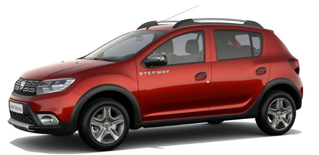 Dacia Sandero STEPWAY Ambiance 1.0 TCe LPG-GASANLAGE, Kalahari-Rot Metallic, Klimaanlage, MEDIA NAV Navigationssystem, Rückfahrkamera, Nebelscheinwerfer