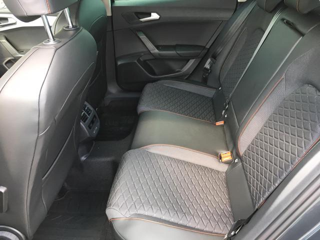 """Seat Leon - """"FR"""" (2) 1.5 TSI 130PS, Schwarz-Metallic, 5 Jahre Garantie, FULL-LED-HIGH-Scheinwerfer, Full Link (Navigationsfunktion), Winterpaket, Parklenkassistent inkl. Parksensoren vo/hi, Adaptiver Tempomat, Digitales Cockpit, Climatronic 3-Zonen, 17"""" Alu, Abgedunkelte Sche Vorlauffahrzeug"""