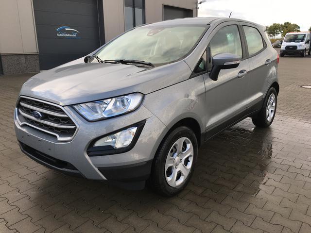 Ford EcoSport - Connected (8) 1.0 100PS Mineral-Silber Metallic, Klimaanlage, Radio 8