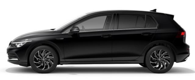 """Volkswagen Golf - """"Style"""" (14) 1.5 eTSI (MILD-HYBRID) 150PS DSG (AUTOMATIK), Deep-Black Perleffekt, Winterpaket, NAVI Discover Media, 17"""" Alu Ventura, Abgedunkelte Scheiben, Rückfahrkamera, Parksensoren vo/hi, Fahrersitz mit Memory-/Massage-Funktion, Sportsitze vo, LED-PLUS-Scheinwerf Vorlauffahrzeug"""