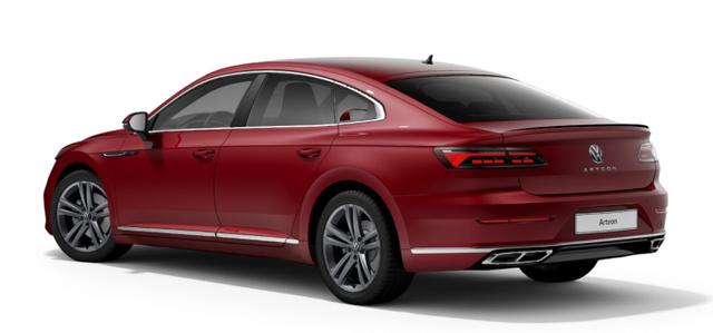"Volkswagen Arteon - ""Elegance"" (14) 2.0 TDI 200PS 4MOTION DSG inkl. POLSTERUNG ""ARTVELOURS"" SPORTLENKRAD SITZHEIZUNG CLIMATRONIC RADIO READY2DISCOVER/USB/BT/DAB /APP-CONNECT DIG. COCKPIT ACC LED-SCHEINW./RÜCKLEUCHTEN LIGHT ASSIST SUNSET PS VO/HI STARTKNOPF PROGRESSIVLENKUNG 18""ALU Bestellfahrzeug, konfigurierbar"
