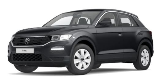 """Volkswagen T-Roc - """"Basis"""" (4) 1.0 TSI 110PS, Urano-Grau, Climatronic, App-Connect Wireless, Winterpaket, Armlehne vorn, Lederlenkrad, Radio Ready2Discover, DAB , Parksensoren vorn/hinten, Front Assist, Lane-Assist, Regensensor, elektr. Fensterheber vo/hi, ZV mit Fernbedienung Vorlauffahrzeug"""
