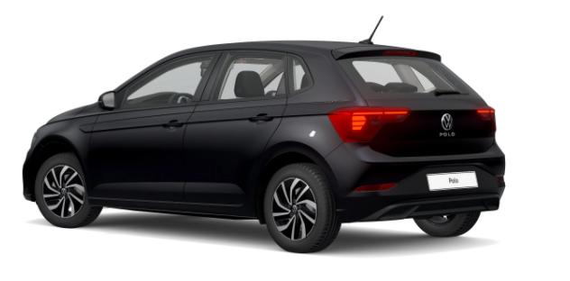 """Volkswagen Polo - """"Life"""" (2) 1.0 TSI 95PS, DEEP-BLACK METALLIC, PARKSENSOREN VO/HI, RÜCKFAHRKAMERA, LICHT-/SICHTPAKET, 16-ZOLL-ALU PALERMO, ALARMANLAGE, KEYLESS ACCESS, ABGEDUNKELTE SCHEIBEN, SITZHEIZUNG, RADIO COMPOSITION, APP-CONNECT, KLIMA, LED-SCHEINW./-RÜCKLEUCHTEN, NSW Vorlauffahrzeug"""
