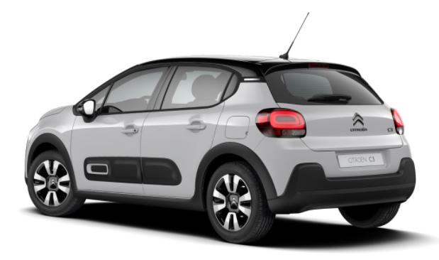 """Citroën C3 - """"Shine"""" (2) 110PS AUTOMATIK, Weiß/Dach schwarz, 16""""-Leichtmetallräder, Klimaautomatik, NAVI   Radio 7""""-Touchscreen, RÜCKFAHRKAMERA, Parksensoren VORNE hinten, Totwinkel-Warner, Tempomat, Eco-LED-Scheinwerfer, NSW Vorlauffahrzeug"""