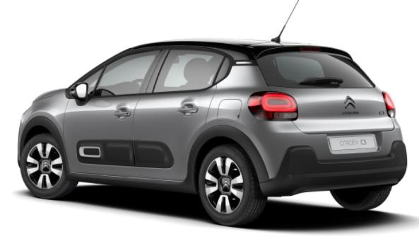 """Citroën C3 - """"Shine"""" (2) 110PS AUTOMATIK, Artense-Grau-Metallic/Dach schwarz, 16""""-Leichtmetallräder, Klimaautomatik, NAVI   Radio 7""""-Touchscreen, Parksensoren hinten, Tempomat, Eco-LED-Scheinwerfer, Nebelscheinwerfer, Außenspiegel elektrisch anklappbar Vorlauffahrzeug"""
