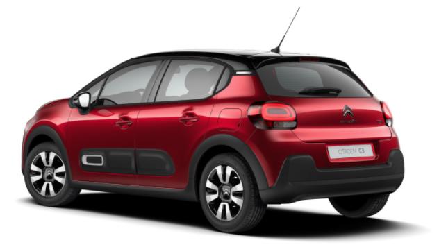 """Citroën C3 - """"Shine"""" (2) 110PS AUTOMATIK, Elixir-Rot-Metallic/Dach schwarz, 16""""-Leichtmetallräder, Klimaautomatik, NAVI   Radio 7""""-Touchscreen, Parksensoren hinten, Tempomat, Eco-LED-Scheinwerfer, Nebelscheinwerfer, Außenspiegel elektrisch anklappbar Vorlauffahrzeug"""