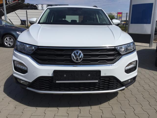 "Volkswagen T-Roc ""Sport"" (5) 17""-Leichtmetallfelgen, LED-Scheinw., Sportsitze, Parksensoren vorne und hinten, Multifunktions-Lederlenkrad, Klimaanlage, Active Info Display, Spurhalteassistent, Front Assist, Dachreling, Automatische Distanzregelung ACC, Radio Composition Media/BT"