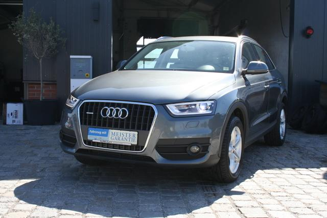 Gebrauchtfahrzeug Audi Q3 - 2.0 TDI 177 PS Quattro S-tronic-Navi-Xenon-Schaltwippen-PDC-AKTION-Sofort