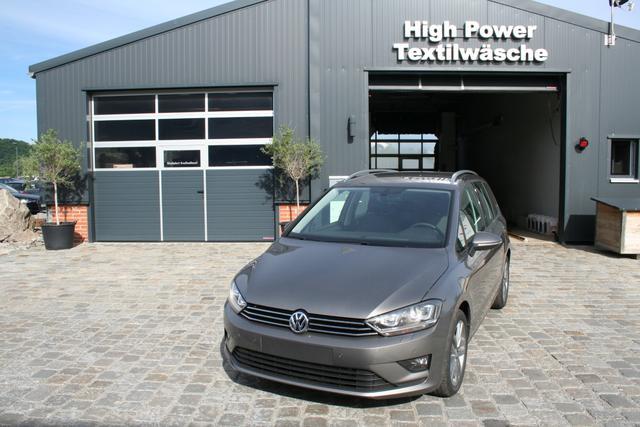 Volkswagen Golf Sportsvan - 1.6 TDI 110 PS-Maraton-Xenon-5JahreGarantie-ErgoAktiv-Tempomat-Sofort