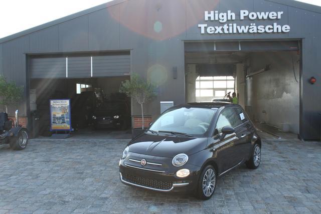 Fiat 500 - 1.2 8V Lounge -Glasdach-Klimaautomatik-Einparkhilfe-Bluetooth-Aktion-Sofort