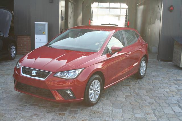 Seat Ibiza - Neues Modell! 1.0 TSI 95 PS Style-Bluetooth-MFL-PDC V+H-SHZ-Tempomat-Klima
