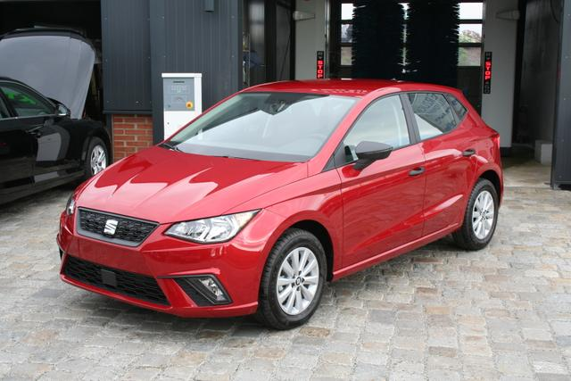 Seat Ibiza - Neues Modell! 1.0 TSI 95 PS Reference-Sitzheizung-Bluetooth-MFL-Tempomat-ZVFunk-Klima-Sofort-